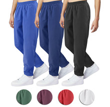 Men's Running Jogging Working Out Gym Fitness Casual Elastic Waist Track Pants image 1