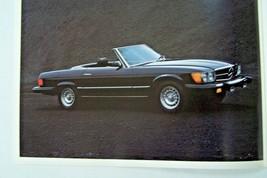 1980 mercedes 450sl owners sales brochure w107  w123 w116 used original - $29.69