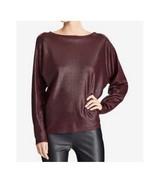 $99.5 Lauren Ralph Lauren Knit Boatneck Pullover Sweater  Red Sangria XL - $68.20