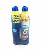 NEW Coppertone Sunscreen Spray Sport Twin Pack  SPF 50, LARGE 6.9 oz  - $18.62