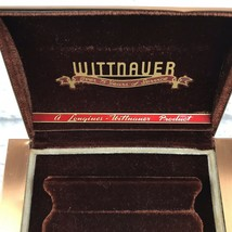 Longines Wittnauer Vintage 75th Anniversary Presentation Watch Case Meta... - $58.96