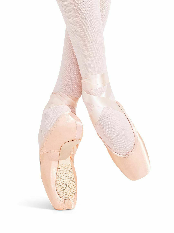 Capezio Contempora 176 European Pink Pointe Shoes Size 4.5B 4.5 B