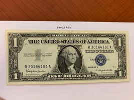 United States $1.00 banknote 1957 B  #43 - $23.95