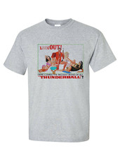 Thunderball T-shirt 007 James Bond Girls Sean Connery vintage 60s graphic tee image 2