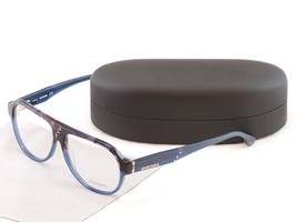 Authentic Diesel Eyeglasses Frame DL5003 050 Plastic Black Blue Top Quality - $130.58