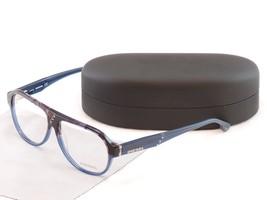 Authentic Diesel Eyeglasses Frame DL5003 050 Plastic Black Blue Top Quality - $130.58