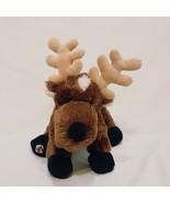 "Brown Reindeer Webkinz No Code Ganz Plush Stuffed Animal 8"" Woods Forest... - $14.99"