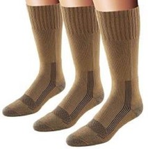 Fox River Men's Wick Dry Maximum Mid Calf Military Sock, 3 PAIR-COYOTE B... - $35.99
