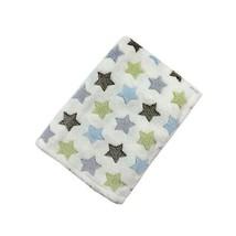 Super Doux Polaire Multi Étoiles Tout-Petit Bébé Filles Garçons Couverture - $18.04