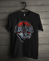 Uchiha Hawks T-shirt New Black T-shirt For Men's - $18.95