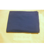 1 X Royal Blue Fabric  100% cotton 46 Inches X 36 Inches - $7.42