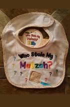 Baby Bib - Who Stole My Matzah - $5.99