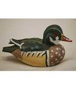Colorful Duck Bird Small Resin Figurine Curio Cabinet Shelf Decor b - $9.89