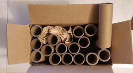 "Lot of 17 STURDY CARDBOARD CORES 4"" long x 1 1/8"" round (1"" inside diam)... - $6.23"