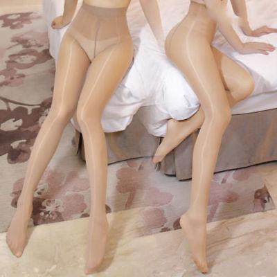 Womens Shiny Glossy Shape Body Pantyhose Stockings Crotch/Crotchless Tights Hose - $8.59 - $9.25
