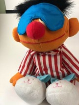 Tyco Animated Talking Stuffed Plush Toy Doll * SING AND SNORE ERNIE *  1... - $11.88
