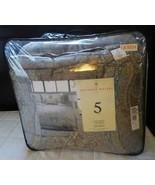 New Raymond Waites Elegant Scroll 3 Pc Comforter Set (no shams), Brown - $74.50