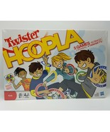 Hasbro TWISTER HOOPLA New 5 Games 16 Rings 2 Spinners 4 Twister TS - $15.29