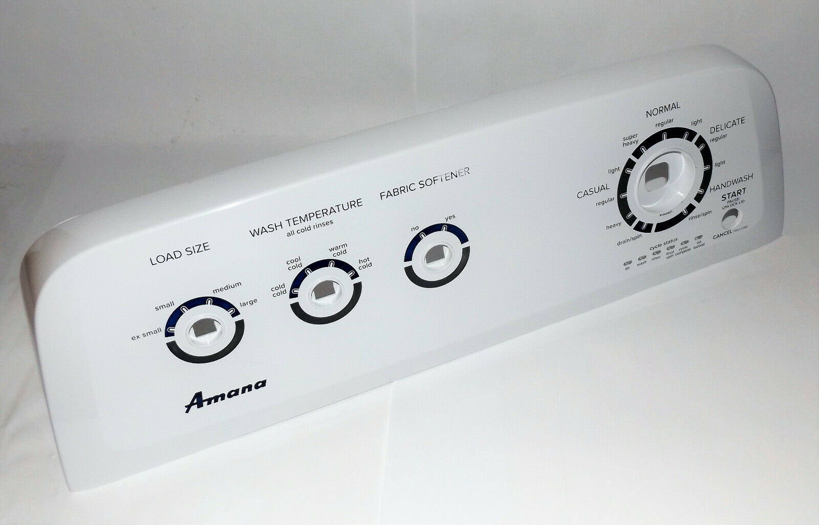 Primary image for Amana Washer : Control Panel Housing (W10429631 / WPW10429631) {P4188}