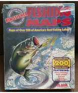 VTG Kingfisher Fishing Maps Big Box CD-Rom Windows 95/98 Valusoft (PC, 1... - $49.49