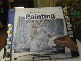 """Royal & Langnickel Paint By Number """"WHISPERING WINDS"""" 11.5"""" x 15"""" - $9.78"""