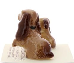 Hagen-Renaker Miniature Ceramic Dog Figurine Don Winton Cocker Mama and Pup image 2