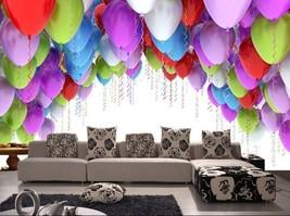 3D Fliegen Ballon 1132 Fototapeten Wandbild Fototapete BildTapete Familie DE - $52.21+