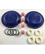 "Teflon Double Diaphragm Kit for a 1/2"" or 3/4"" Air Diaphragm Pump - $226.71"