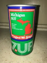 7 UP UNCLE SAM CAN 1976, MICHIGAN, AIR FILLED NEVER OPENED!! - $14.99