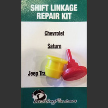 Jeep Wrangler Transfer Case Shifter Cable Repair Kit w/ bushing Easy Ins... - $24.99