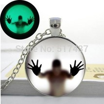 2015 New Fashion Glowing Jewelry, Glowing Pendant Man Behind The Glass a... - $8.03