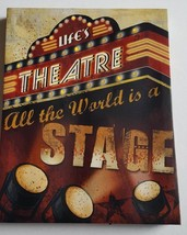 Light Up/Flashing LED Canvas Theater Live Action Hollywood Production - $20.00