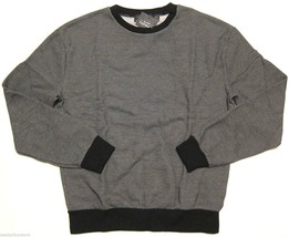 NWT $55 Topman by Topshop Black Textured Oversized Sweatshirt sz XXS - $9.89