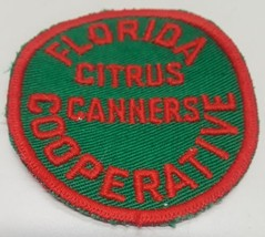 Vintage Sew On Patch Florida Citrus Canners Cooperative - $5.93