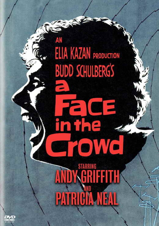 A face in the crowd movie poster 27 x 40 inches