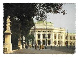 Austria Wien Burgtheater Vienna Imperial Theatre Entrance Statuary 4X6 P... - $4.99