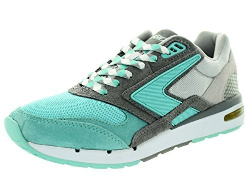 Brooks Women's Fusion ArubaBlue/DarkGrey/Grey Running Shoe 6 Women US