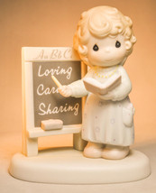 Precious Moments: Teach Us To Love One Another - PM961 - Classic Figure - $18.60