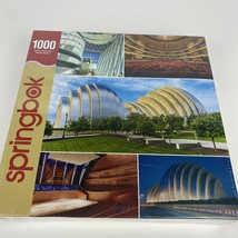 Springbok 1000 Piece Jigsaw Puzzle - Kansas City Kauffman Center Perform... - $18.69