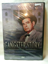 Gangster Story (DVD, 2004) New Sealed Walter Matthau, Region Free - $1.98