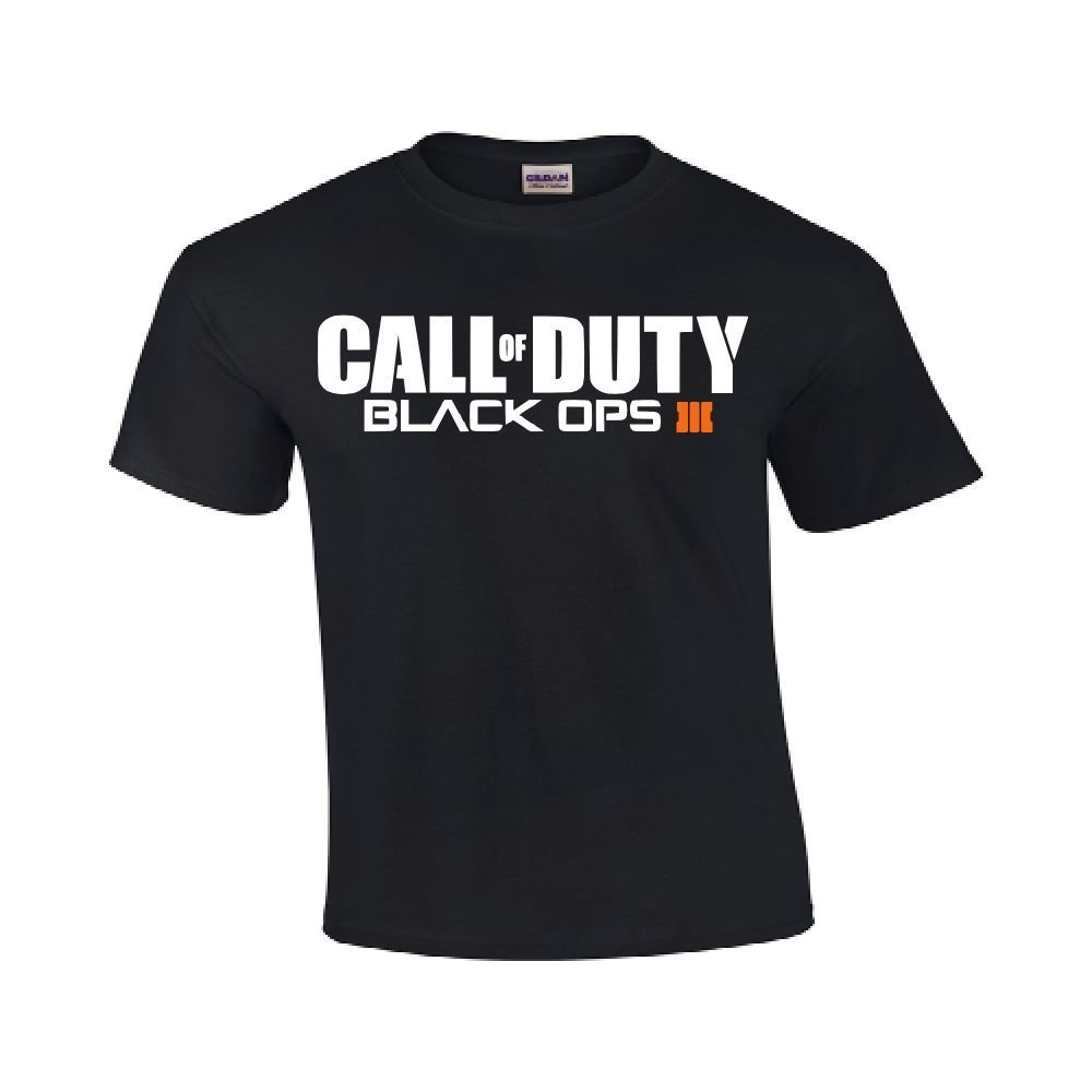 New Call of Duty Black Ops III COD Tee xbox one ps 4 3 360 Gamers Gildan T-Shirt for sale  USA
