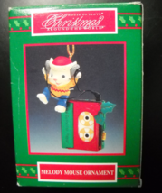 House Of Lloyd Christmas Ornament 1995 Melody Mouse Ornament Original Box - $8.99