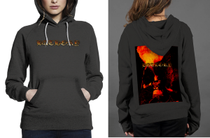 Bathory z hoodie women black