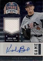 2015 Panini Stars and Stripes Game Gear Signatures Longevity/49 Kale Bre... - $7.70