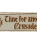 Knights Templar - Crusade Patch  - $8.99