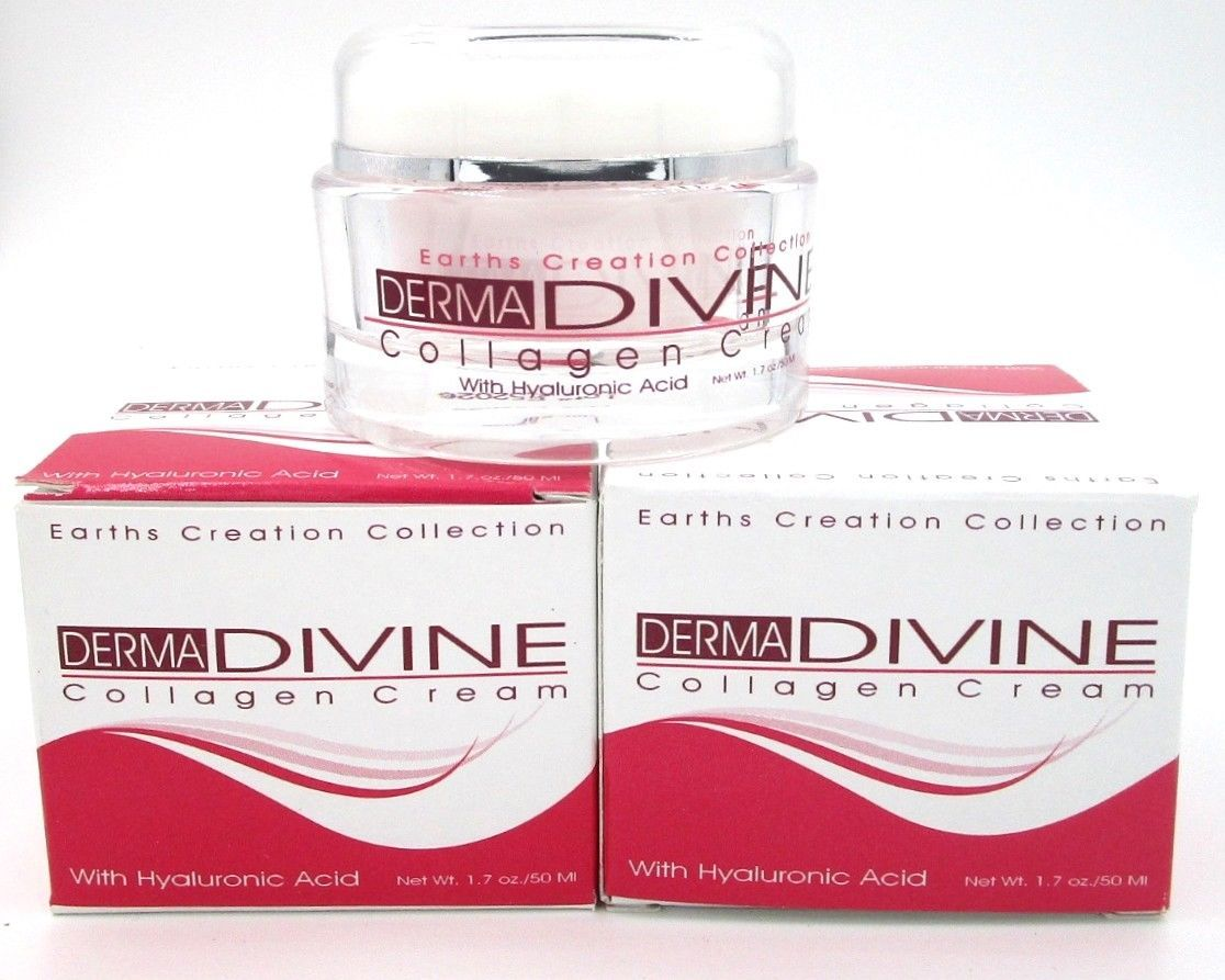 Derma Divine Collagen Skin Cream with Hyaluronic Acid (2)