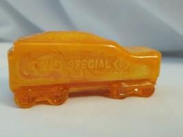 Boyd Glass Boyd's Special Train coal tender - orange - $8.86