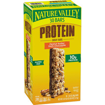 Nature Valley Peanut Butter Dark Chocolate Protein Chewy Bars (30 ct.) - $35.27