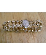 Vintage LeCoultre 14K Solid Gold Case & Band Ladies Wristwatch 1950 - $1,500.00