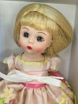 """Madame Alexander April Doll 8"""" Blonde Spring Pink Hat 2007 Limited Edition 45650 - $99.99"""